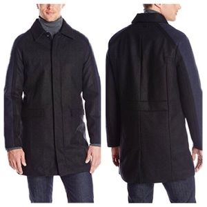 COPY - ❤️Calvin KleinTailored Blocking Wool Coat,…